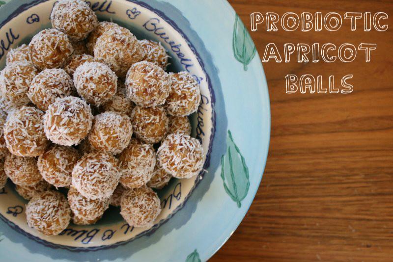 probiotic apricot balls